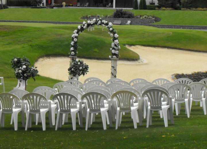 Outdoor White Chairs