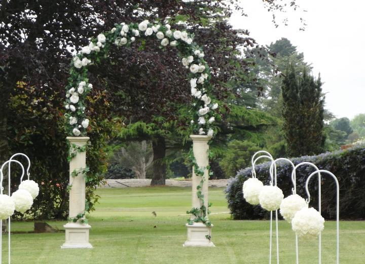 Floral Arch - click for prices